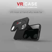 aspheric optics - Hot D VR Glasse Case ABS and PC Virtual Reality Lens Cover Figment Aspheric optics Easy Enjoy Home theater for iPhone