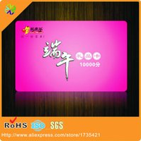 Wholesale CR80 credit card size custom artwork CMYK colors printing hard pvc plastic gift card