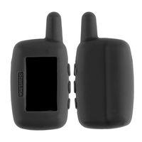 Nouvelle version russe A9 silicone Housse pour LCD A9 Télécommande à deux voies voiture système d'alarme couleur noire Nouveau