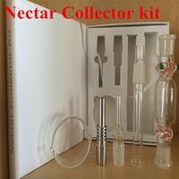 ash delivery - Hot Nectar Collector mm mm mm Nectar Collector Water Smoking Pipe Bong Ash Catcher Ttitanium Vaporizer Gift Box Kit ePacket delivery