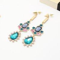 accessory zone - hot new jewelry women Drop zone drill Bohemia stud earrings Fashion accessories