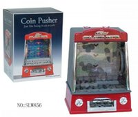 Wholesale New Mini Fairground Coin Pusher Arcade Penny Game Toys With Warning Sound And Lights Gift Toy For Children