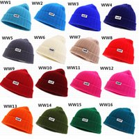 Wholesale 22 Colors Neff Winter Beanies Cap Men Women Knitted Cap Bboy Beanies Hiphop Sport Baseball Fans Cap