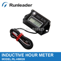Wholesale Digital Resettable Inductive Tiny Tach Gasoline Engine Hour Meter Tachometer Stroke RPM M47439