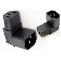 apc power - IEC C14 Male to C13 Female Down bend degree conveter Power Adapter PDU UPS APC Adapter PDU UPS APC power converter plug