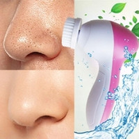 Wholesale Post Shipping In Electric facial cleaner Face Cleansing Brush Skin Care Brush Beauty Care Massager Scrubber MOQ1PCS