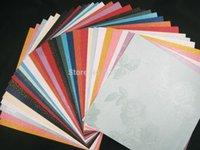Wholesale cm colors Photo Album Cardboard Scrapbooking Paper DIY Craft Paper