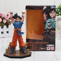 Wholesale Free Ship cm Dragon Ball Z Son Goku Battle Genki Dama PVC Action Figure Model Toys Dragon Ball figure