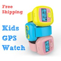 Wholesale Smart watches for children children Positioning watch SOS remote monitoring alarm GPS positioning Wrist Watch LBS base station