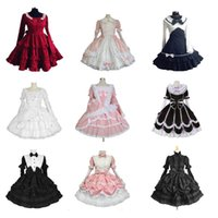 Wholesale Halloween Victorian Gothic Lolita Dress Cosplay Long Tiered Layered Women Skirt Any Size