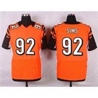 best sims - Orange Pat Sims Football Jersey Cheap Football Jersey for Men Football Apparel Best Football Shirts Authentic Football Jerseys Cheap