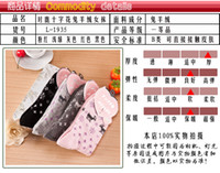 Wholesale 2015 Korean Style Fashion Mini Deer Dot Wool Socks Winter Warm Thicken Socks Xmas Christmas Mix Colors Pairs New