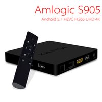 Wholesale Mini MX Android TV Box Android S905 Quad core bit ARM Cortex A53 G G Kodi XBMC H K K G WiFi Bluetooth