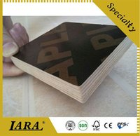 Wholesale Custom Made Length Green Film Faced Plywood Manufacture Sample For Construction Materials Ply With Poplar Pine Hardwood Core