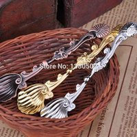 american dinnerware - Newest Fashion Vintage European and American palace style Coffee Spoons Ice Cream Cake Spoon Dinnerware