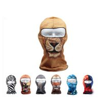 Wholesale motorcycle riding outdoors fishing sunscreen breathable wicking printing custom hoods Facekini
