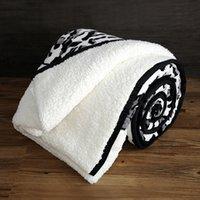 bedclothes blankets - Faux fur quilt blanket pillow handmade patchwork quilt needlework bed linen bedclothes