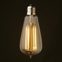 Wholesale Vintage LED Long Filament Bulb W W W Super Warm K Edison Classic ST19 ST64 Certified by UL Dimmable