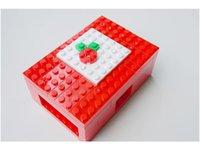 base pi - Raspberry PI Shell Raspberry Pie Box Lego Blocks Box raspbian rpi base diy electorinc toy development board kit robot tank car