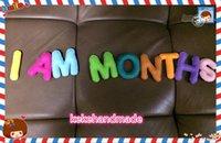 Wholesale Felt alphabet magnet alphabet felt letters colorful letters baby toy handmade