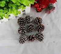 pine tree - Christmas Small Pine Cones Christmas Ornaments Christmas Tree Ornaments Natural Pine Nuts