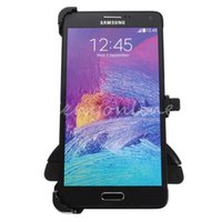 Wholesale 2015 New Arrival High Quality Black Car CD Slot Mobile Holder Stand Mount Cradle for Samsung Galaxy NOTE Driving Decoration
