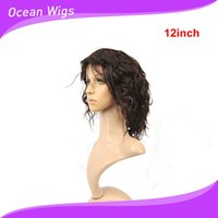 Wholesale Front lace wig for women Brazilian lace front wig body wave natural color inch tangle free washable no shedding fashion wigs