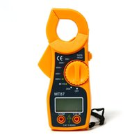 Wholesale 2015 New arrival Hot sale best quality Portable High Accurate Multimeter Electronic Automatic Tester digital Clamp Meter L015