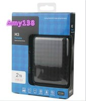 Wholesale Hard drives TB T GB M3 USB Portable External Hard Drive hard disk quot HDD