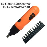 Wholesale New Electric screwdriver Cordless Drill V Screwdriver bit set Household DYI Tools