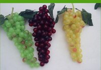 decorative artificial grapes - Novelty Idyllic Decorative Simulation Grapes Artificial Grapes Fruits Large Grapes For Home Living Room Ornaments