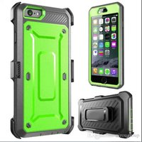 Wholesale Hybrid Shockproof Armor Tough Cell Phone Case Back Cover Protector iphone case s plus case with clip