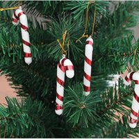 best candy cane - 2015 New arrival Hot sale best quality Candy Cane Ornaments Festival Party Christmas Tree Hanging Decoration ZH156