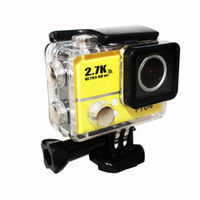 Wholesale New Gopro Hero waterproof sports camera Go Pro Style K Full HD P With WIFI Control meters Waterproof video camera HDMI Android IOS