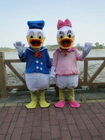 Wholesale Donald Duck mascot costume Donald Duck mascot Daisy mascot
