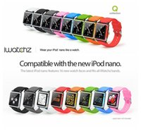 apple nano generations - iwatchz Q Collection Silicone Watch Band Wrist Strap Case Cover For Apple iPod Nano th Generation With Retail Package