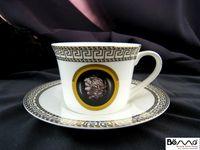 afternoon tea food - Afternoon tea coffee cup Western style food restaurant tableware bone china coffee cup ceramic cup Hotel