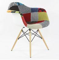 aluminum chair eames - European ikea furniture Eames chair dining chair fashion chair leisure chair creative cafe fabric chair style