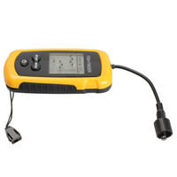 Wholesale Portable Sonar Sensor Fish Finder Alarm M Depth Capturing Transducer NO5 Fishfinder Fast Shipping