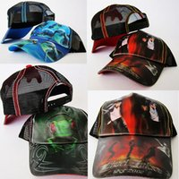 active marines - D Snapback Cap Hat Print Animal Personage Michael Jackson Spring Autumn Caps Tiger Frog Marine Hats For Men Women