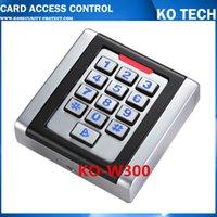 Wholesale KO W300 IP68 Waterproof standlone RFID Door Access Control