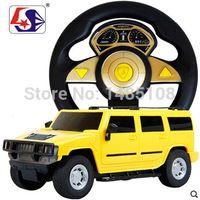 accelerometer model - 1 Large steering wheel electric remote control car battery drift accelerometer simulation models of toy