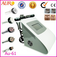 Wholesale Au Ultrasound skin tightening massage body slimming ultrasonic tripolar RF Radio Frequency Cavitation machine factory price