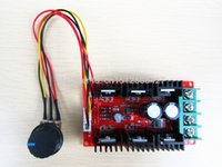Wholesale NEW V A W DC Motor Speed Control PWM HHO RC Controller V V V W MAX DHL EMS Fedex UPS