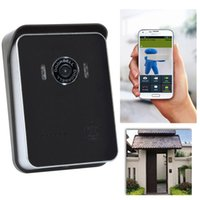 Wholesale Fashion Wifi Doorbell Waterproof CMOS Visual Doorbell with IR LED Android Smart Phone and Iphone Control IP Doorbell