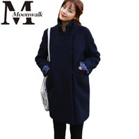 Cheap Ladies Navy Wool Coat | Free Shipping Ladies Navy Wool Coat