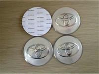Wholesale Car Badges X Car Accessories Ornament Wheel Center TOYOTA Hub Cap Stickers mm mm mm emblems