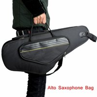 alto saxophone gig case - High Quality Alto Sax Saxophone Gig Bag Case D Water resistant Oxford Cloth Design Backpack Adjustable Shoulder Straps order lt no track