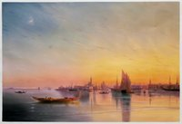 art realism - Realism Seascape Home Decoration Wall Art Painting for Room H