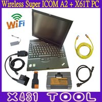 Wholesale Best Selling Wireless ICOM A2 B C With Used X61T Touch Screen Laptop Super ICOM Software Diagnostic Programming